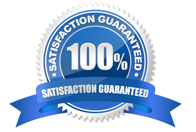 100 Percent Satisfaction or Your Money Back Guarantee